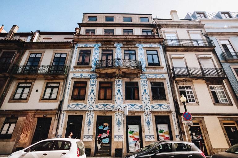 Gebouw in Porto