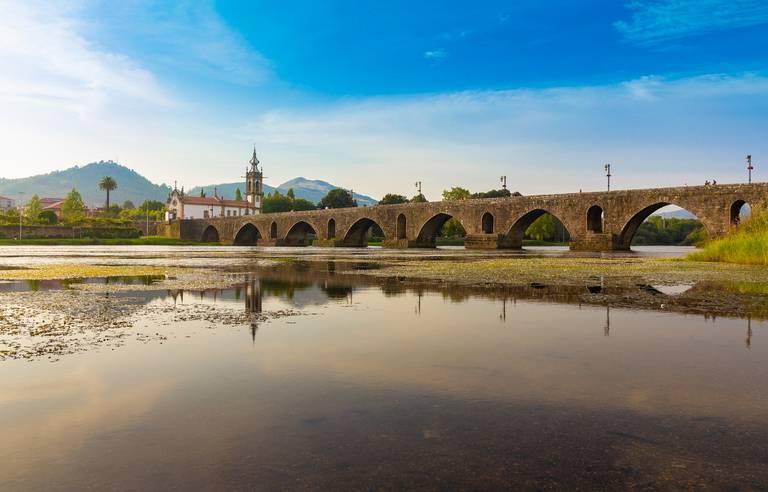 Brug bij Viana Castelo
