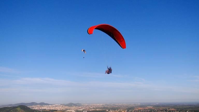 Paragliden in Viana Castelo