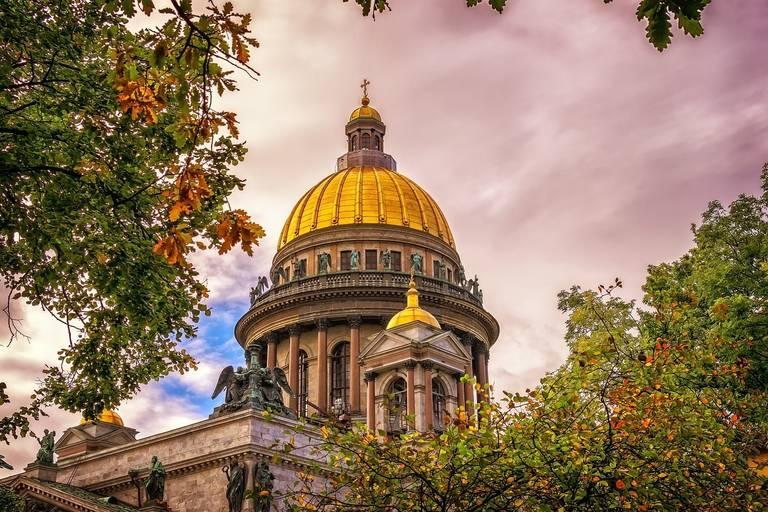 Izaäkkathedraal in St. Petersburg