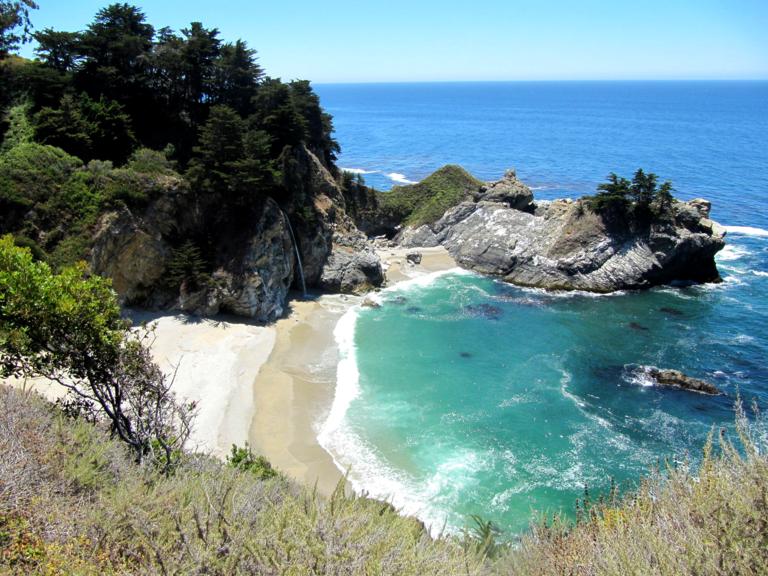 Highway 1 in Californië - Julia Pfeiffer Burns State Park